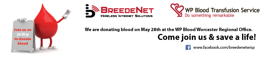 Donate Blood on the 28th of May