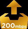 200Mbps