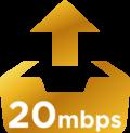 20Mbps