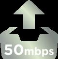 50Mbps